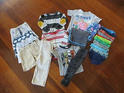 Boys size 2 clothing pack (including Polio, Minihaha, Plum & Sprout)