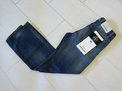 Stone Island Junior Slim Fit Jeans Age 8 New With Tags