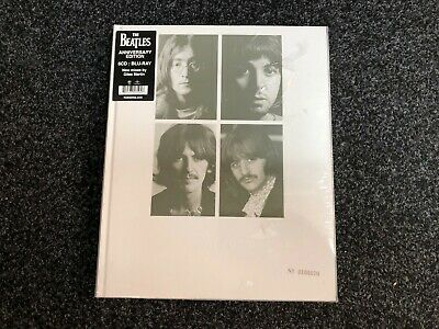The Beatles (White Album): Anniversary Edition 6CD Blu-Ray Box Set - NEW SEALED