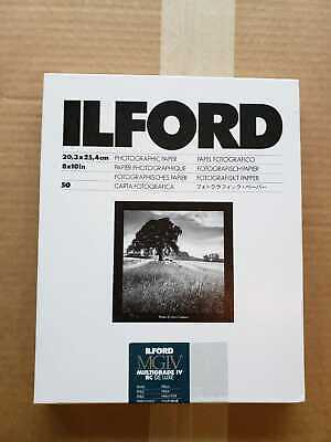 "Ilford Multigrade IV RC DeLuxe Paper (Pearl, 8 x 10"", 50 Sheets)"