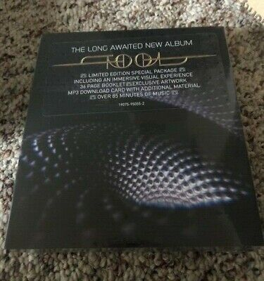 TOOL Fear Inoculum Limited Special Edition Deluxe Sealed SOLD OUT ! in hand