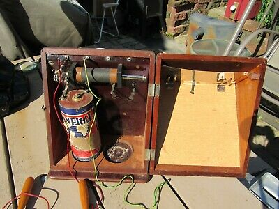 Antique Dry Cell Battery Electric Machine Quack Medical Shock Therapy