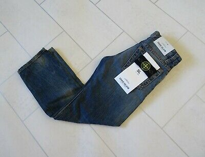 Stone Island Junior Slim Fit Jeans Age 6 New With Tags