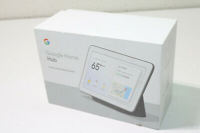 Google Home Hub with Built-In Google Assistant Charcoal
