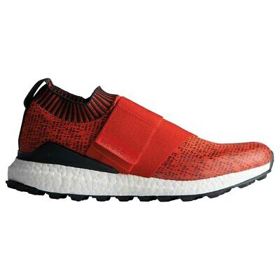 New Adidas Mens Crossknit 2.0 Boost Golf Shoes Red / Carbon / White - Select Sz!