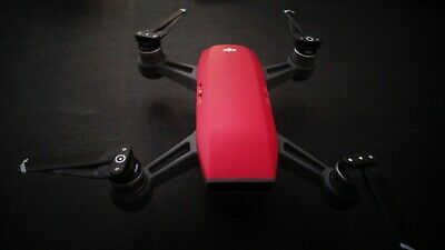 DJI Spark FLY MORE COMBO red in good shape