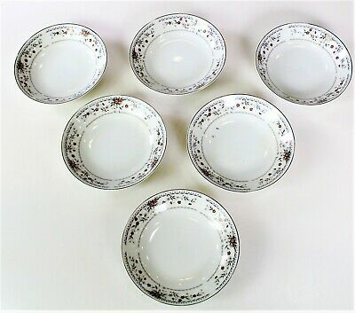 6pc Set of Claremont Fine Porcelain China Bowls Made in JAPAN
