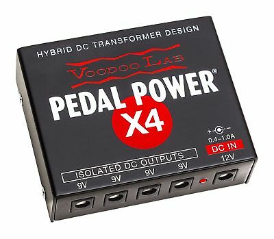 Used Voodoo Lab Pedal Power X4 Expander Kit Guitar Pedal Power Supply!