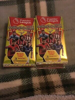 21 X panini adrenalyn xl premier league 2019/20 Packets Free Post