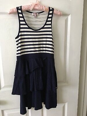 Girls Juicy Couture Navy & White Dress Size XL