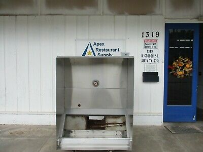 "GreaseMaster GSW 1, 4"" vent hood #4607"