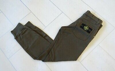 Stone Island Junior Cuffed Jeans / Joggers Age 8 New With Tags