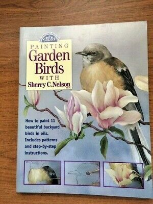 Painting Garden Birds by Sherry C. Nelson