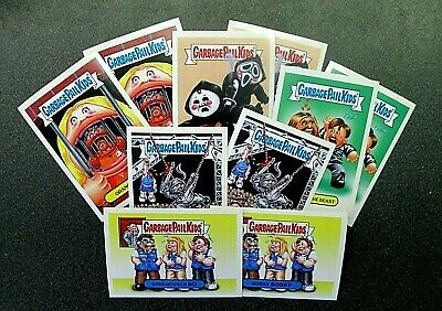 TOPPS 2016 GPK Prime Slime Trashy TV SUMMER  Preview Complete 10 Card Set