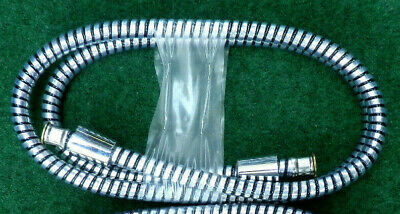 One Plastic PVC Coated No Rust 6 Foot Shower Hoses