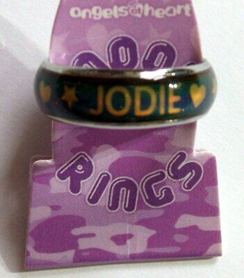 PERSONALISED MOOD RING - JODIE - Girl's Colour Changing Ring