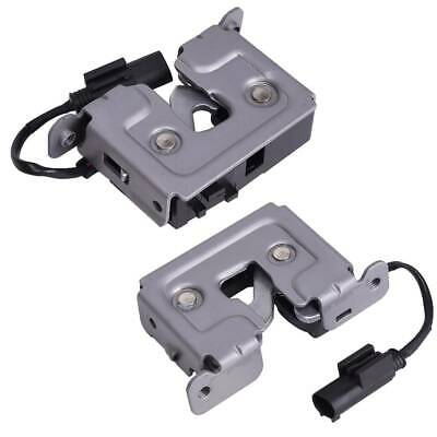 BAPMIC Front Left & Right Lower Hood Lock Latch Kit for BMW E90 E92 E60 X3 M5