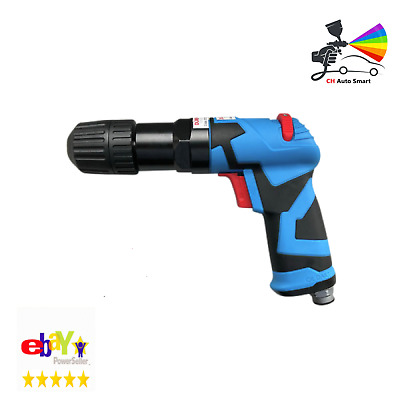 """Duren 321265 Air Operated 3/8"""" Reversible Drill With Key-Less Chuck"""