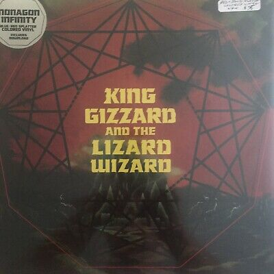 KING GIZZARD AND THE LIZARD WIZARD Nonagon Infinity LP Blue + Red splatter NEW