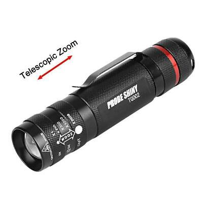 Led Flashlight Torch Tactical Light Zoomable 20000LM Lamp Penlight Waterproof YO