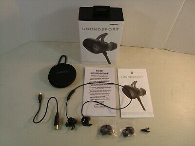 BOSE SOUNDSPORT Wireless Bluetooth In Ear Neckband Headphones NICE*