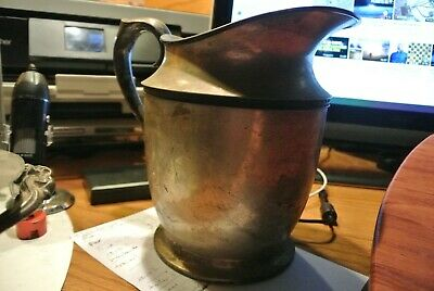 Vintage New Amsterdam Silver Plate EPNS C1240 Water Pitcher  RARE! EUROPEAN?
