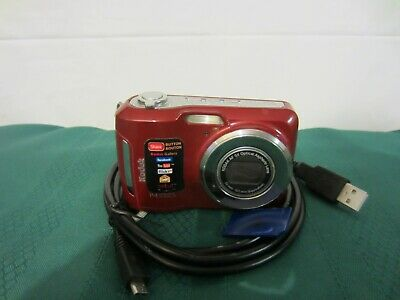 Kodak EasyShare C195 14.0MP Digital Camera - RED - EASY TO USE