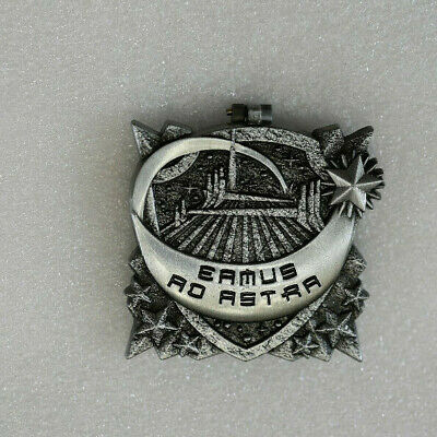Disney Pin 134388 DLR - Pin of the Month - Crests of the Kingdom Space Mountain