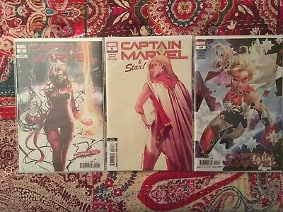 Captain Marvel #8 1st Appearance Star 1st Print Carnagized, 2nd Print, #10!