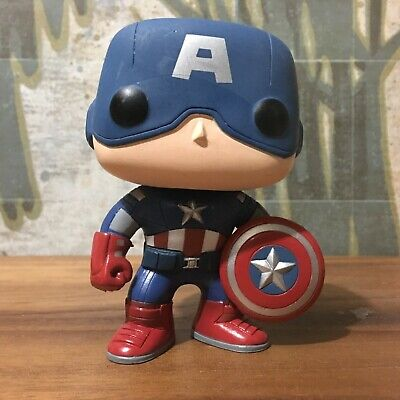 Funko Pop Avengers 10 Captain America Loose