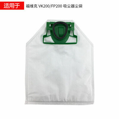 Plastic Replacement for Vacuum Cleaner Dust Bags For Vorwerk Cleaner VK200 FP200