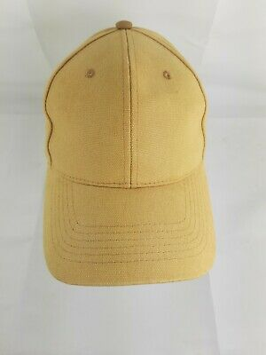 Pacific Headware Tan Strapback Adjustable Baseball Hat Cap 191C Plain Wheat Duck