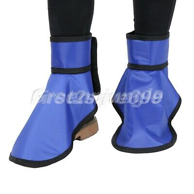0.35mmpb X-Ray Protective Shoe Covers Hospital Lab Radiation Protection