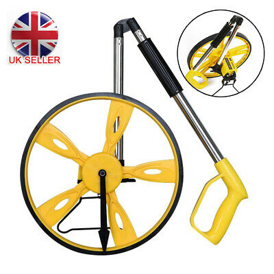 Distance Measuting Wheel With Stand Foldable In Bag Surverors Builders Road Land