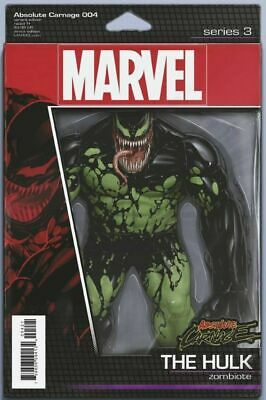 Absolute Carnage #4 Christopher Action Figure Variant Comic Book  NM