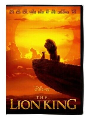 Lion King 2019 (Live Action) DVD Brand New Factory Sealed Shipping Fast