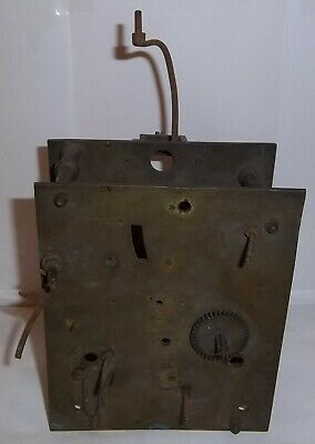 Longcase Grandfather Clock Movement For Parts