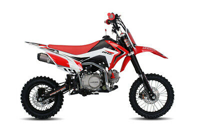 New 2020 Dhz 125Cc Motor Dirt Pit Bike 4 Stroke E-Start Engine Manual 4 Speed