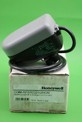 Honeywell On/Off Grey Actuator with AuxiliarySwitch 230V COM-RFSR2221UHGN (A51)