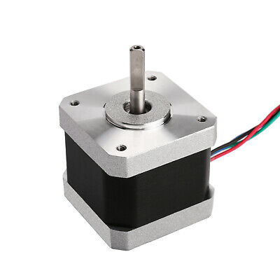 1PC Stepper motor Nema17 1.5A 71 oz.in 40mm 4-Lead Flat shaft 3D printer