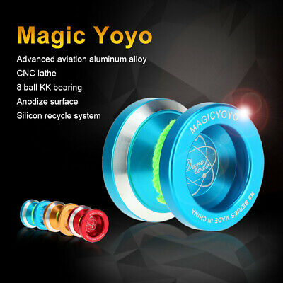 Professional Magic Yoyo N8 Aluminum Alloy Metal Yoyo 8 Ball KK Bearing with Q2U7