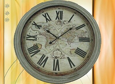 Wall Clock Wood Battery round D.60cm Aesthetics Gift Rarity Sublime + Decorative