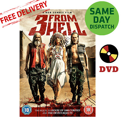 3 From Hell DVD 2019 Brand New Sheri Moon Zombie Rob Zombie