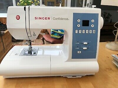 SINGER Confidence 7465 Electric Sewing Machine - White
