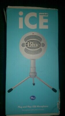 Blue Microphones Snowball Ice USB Microphone new