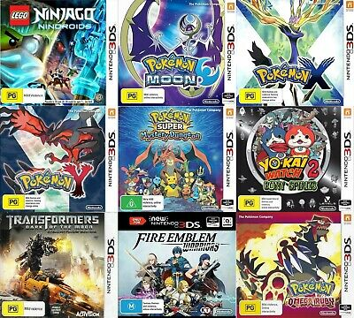 Nintendo 3DS Games - Choose Your Own Titles *Free Next Day from Sydney*