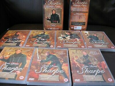 Sean Bean Sharpe The Collector's Edition Complete Series DVD 14 Disc Box Set #AA