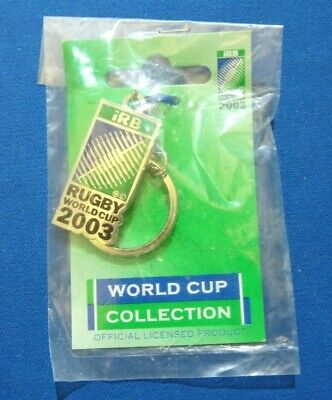 Rugby World Cup 2003 Official iRB Keychain New in Original Pack from UK Seller