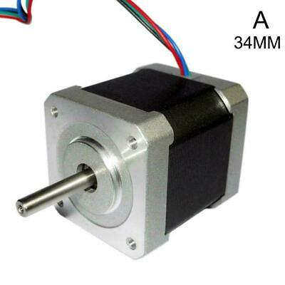 34/40/48mm 1.8Degree NEMA17 2Phase Stepper Motor For 3D Printer Robot Tool C7H2
