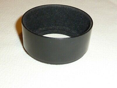 52mm SCREW FIT LENS HOOD WITH FLOCK LINING